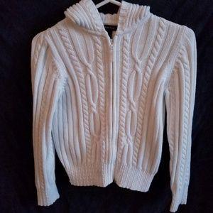 Lands End Girls Cardigan Sweater